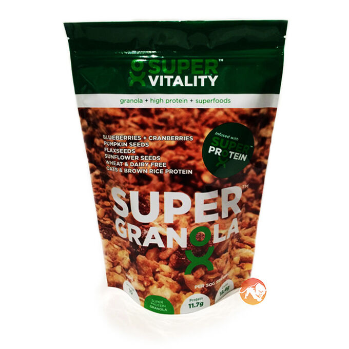 SuperVitality Super Granola Blueberry and Cranberries 500g