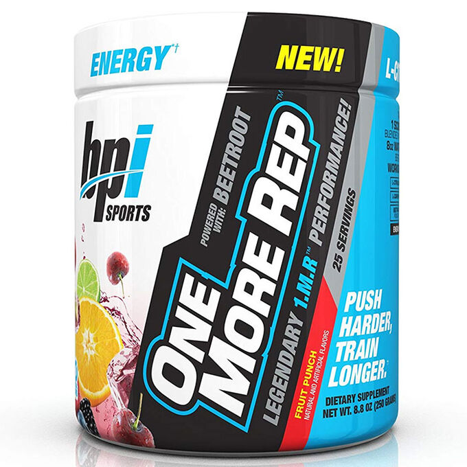 BPI Sports One More Rep 25 Servings Fruit Punch