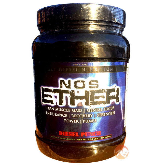 NOS Ether 60 Servings - Diesel Punch