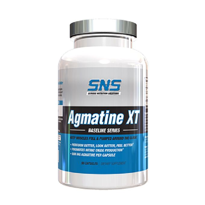 Serious Nutrition Solutions Agmatine XT Pumps and Endurance 90 Capsules