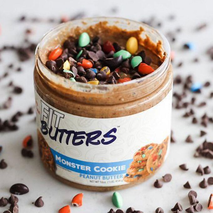 Fit Butters Fit Butters Monster Cookie Peanut Butter 454g