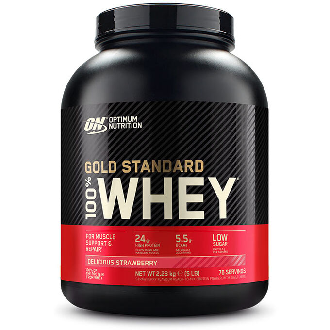 Optimum Nutrition Gold Standard 100% Whey 2lb - Double Rich Chocolate