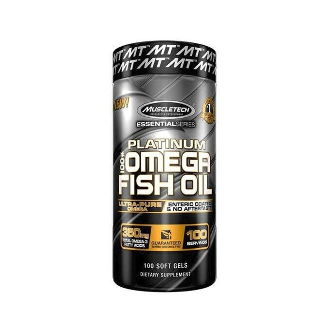 Muscletech Platinum 100% Fish Oil