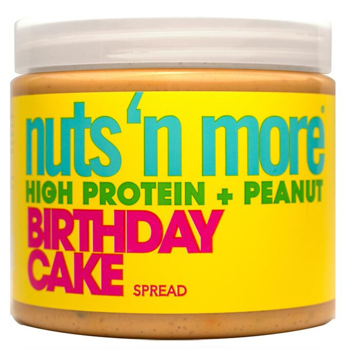 Nuts 'N More Nuts n More Peanut Butter 454g Birthday Cake
