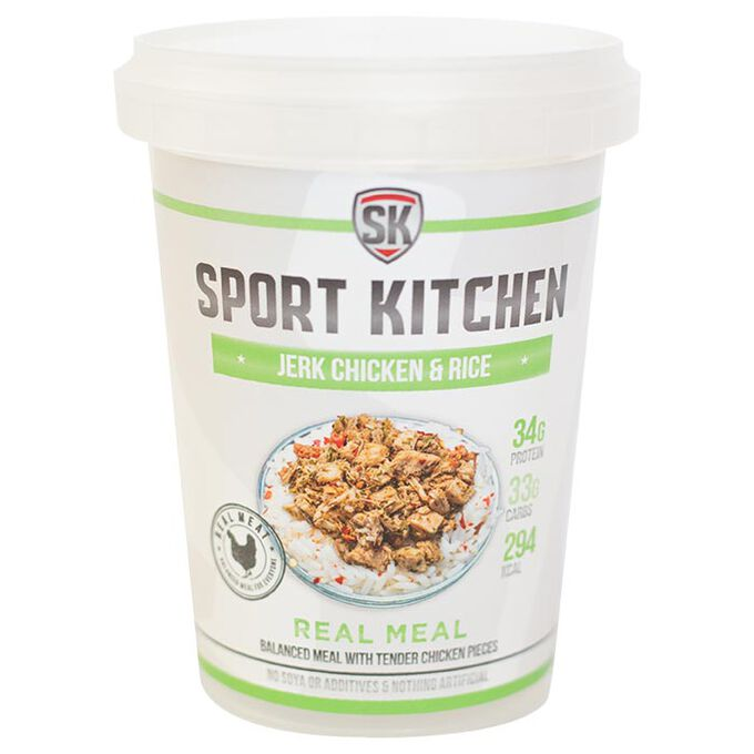 Sports Kitchen Sport Kitchen Jerk Chicken Rice - Protein Meal