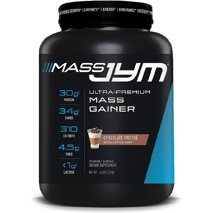 JYM Supplement Science Mass Jym 2268g Chocolate Mousse