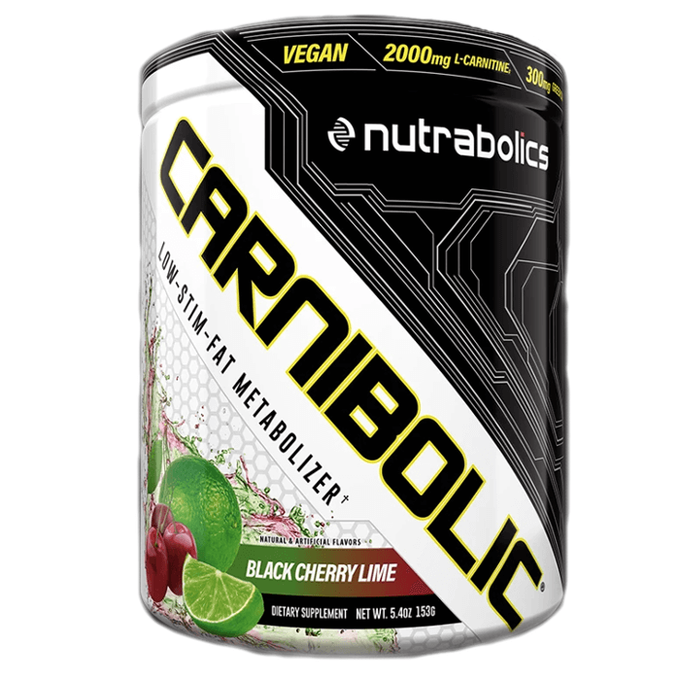 Nutrabolics Carnibolic 30 Servings Black Cherry Lime