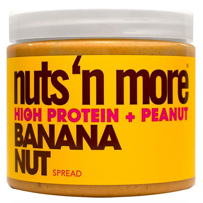 Nuts n More Peanut Butter 454g Banana Nut
