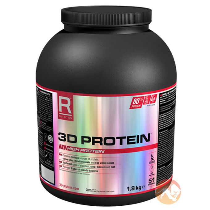 3D Protein 1.8kg - Chocolate Perfection