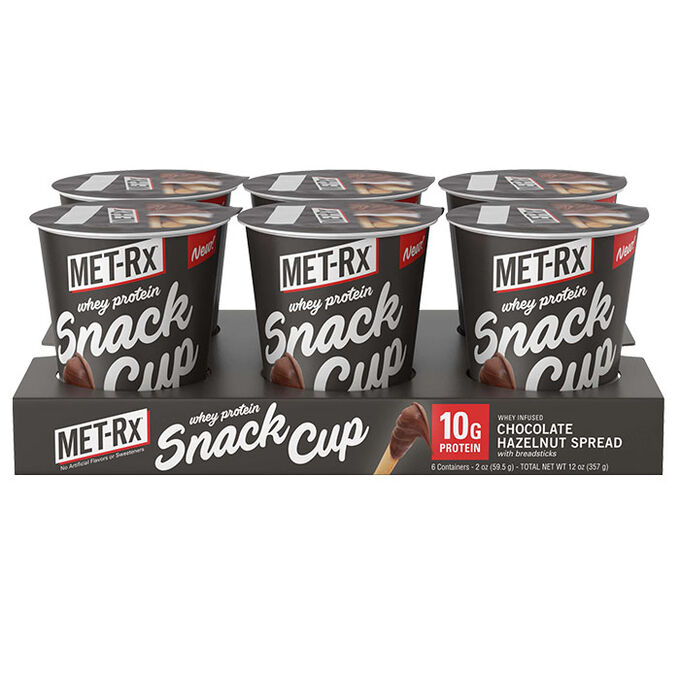 Whey Protein Snack Cup 24 Cups Chocolate Hazelnut