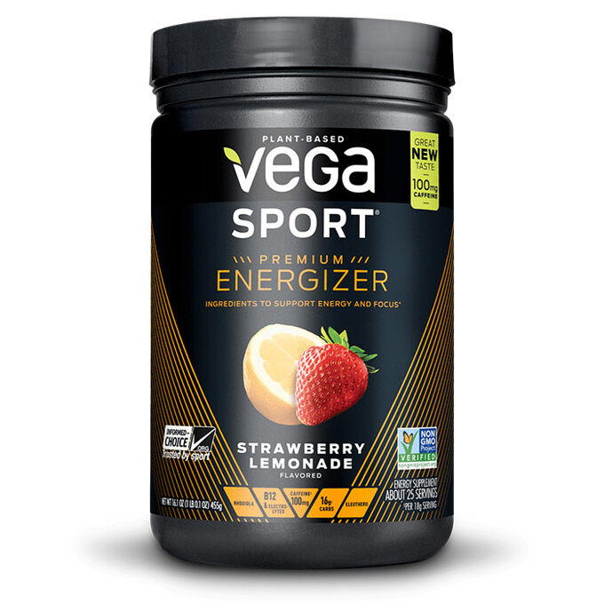 Vega Sport Energizer 25 Servings Strawberry Lemonade
