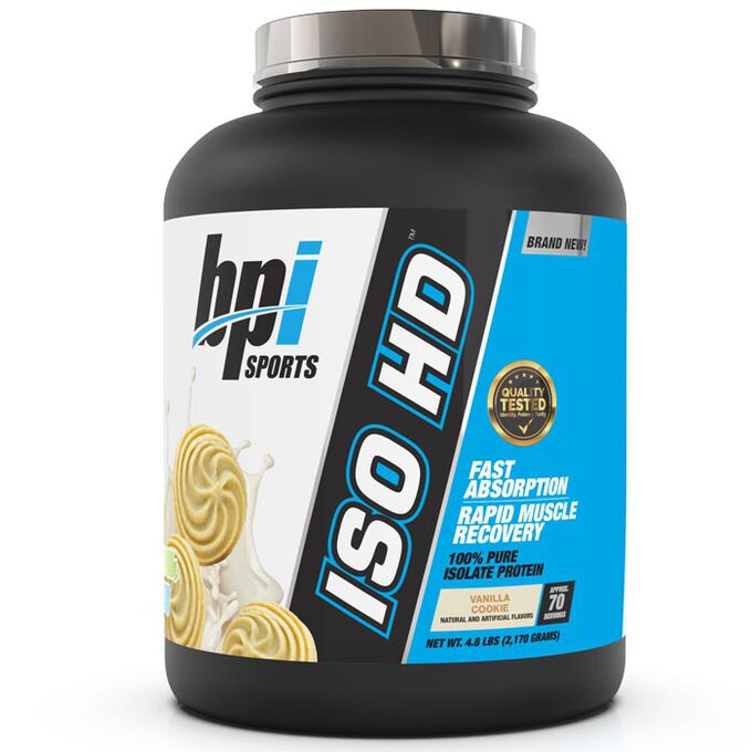 BPI Sports Iso-HD 720g Vanilla Cookie