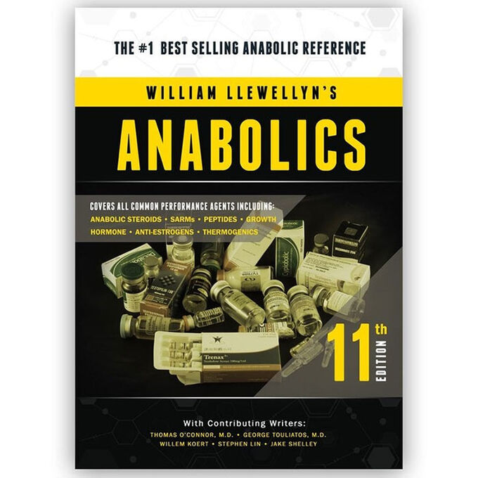 Molecular Nutrition Anabolics 11th Edition Soft Cover