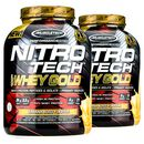 Nitro-Tech 100% Whey Gold 2.27kg Banana Bliss