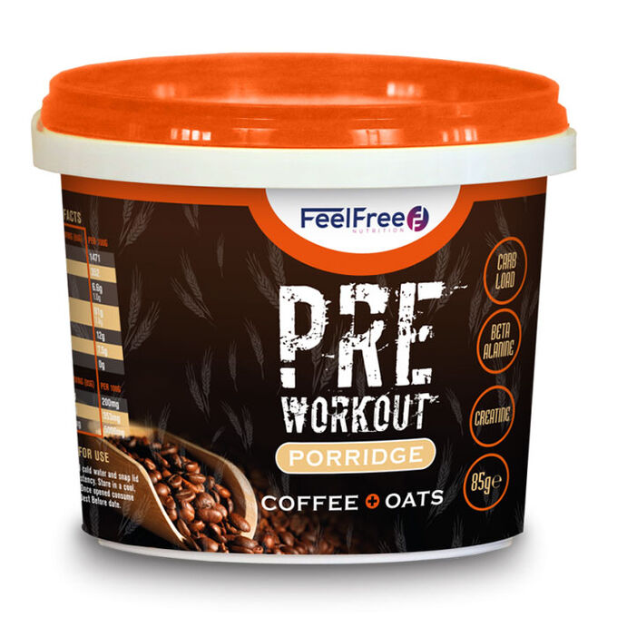 Protein Porridge Pre-Workout 100g Coffee