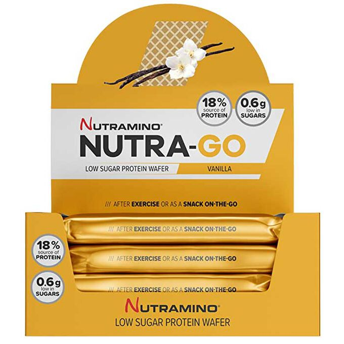 Nutra-Go Protein Wafer 12 Wafers Chocolate