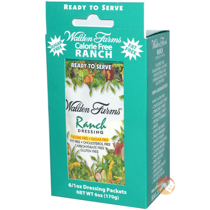 Walden Farms Calorie Free Ranch Dressing Single Serving