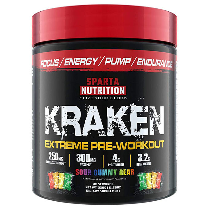 Kraken 40 Servings Sour Gummy Bear