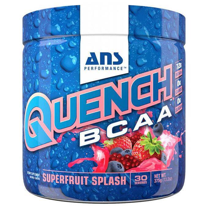 Quench BCAA 30 Servings Superfruit Splash