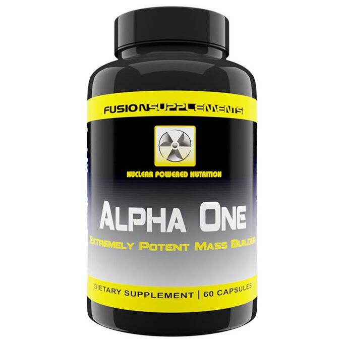 Fusion supplements Alpha One