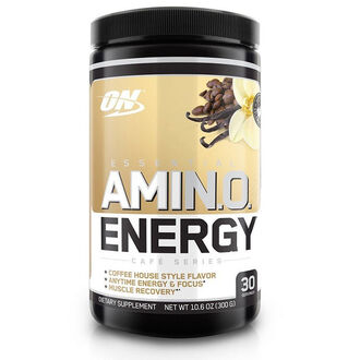 Amino Energy Exclusive Flavours 30 Servings Iced Cafe Vanilla