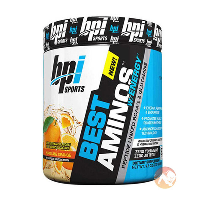 Best Aminos w/Energy 30 Servings Hurricane Orange
