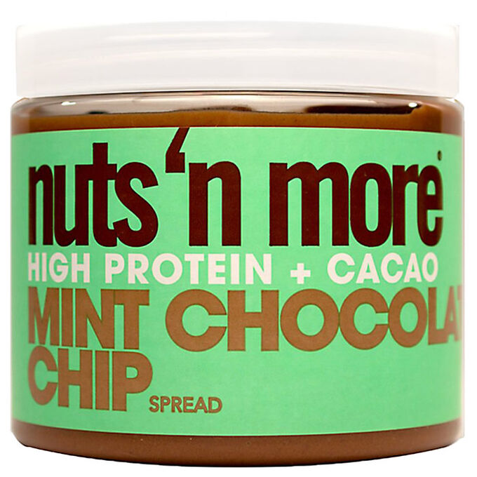 Nuts n More Peanut Butter 454g Mint Chocolate Chip