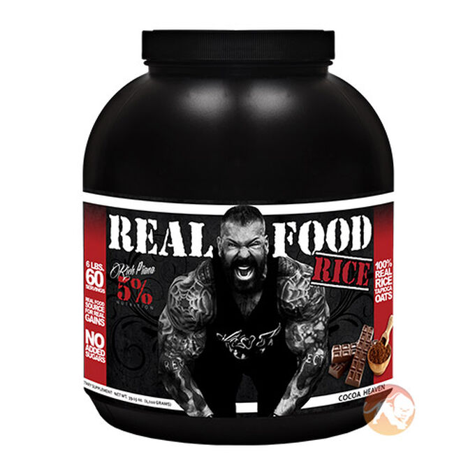 5% Rich Piana Real Food Rice 2.2kg Cocoa Heaven