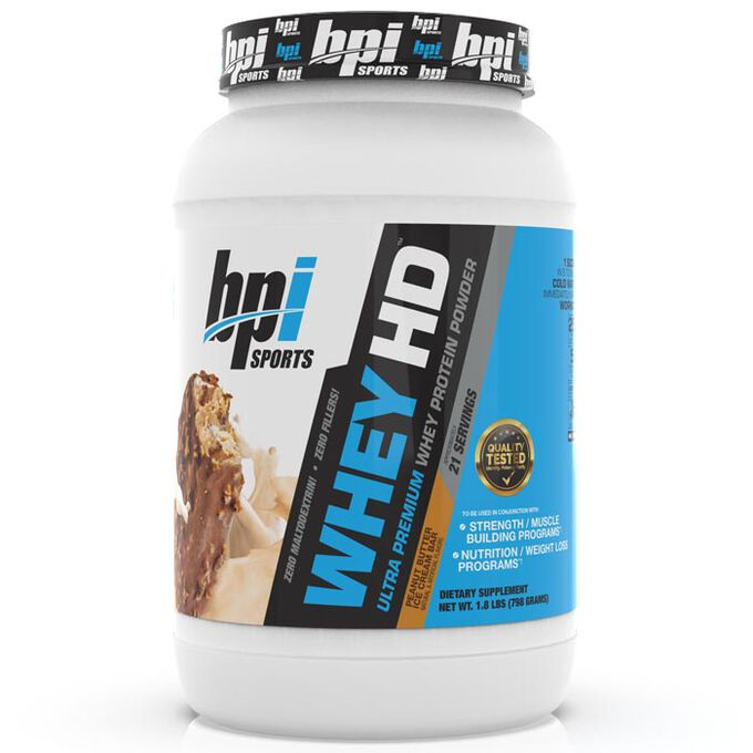 BPI Sports Whey HD 21 Servings Peanut Butter Ice Cream