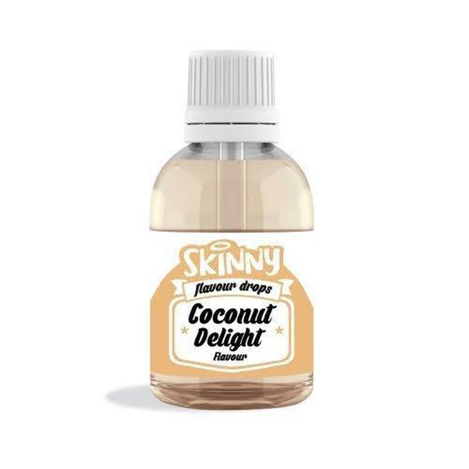 The Skinny Food Co Sugar Free Coconut Delight Flavour Gourmet Drops 50ml