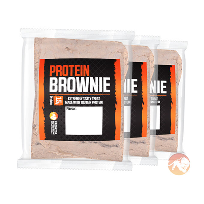 Predator Nutrition Predator Brownie Selection 3 Bars