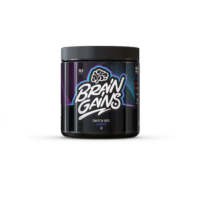 Brain Gains Black Edition Switch Off 40 Servings Starberry