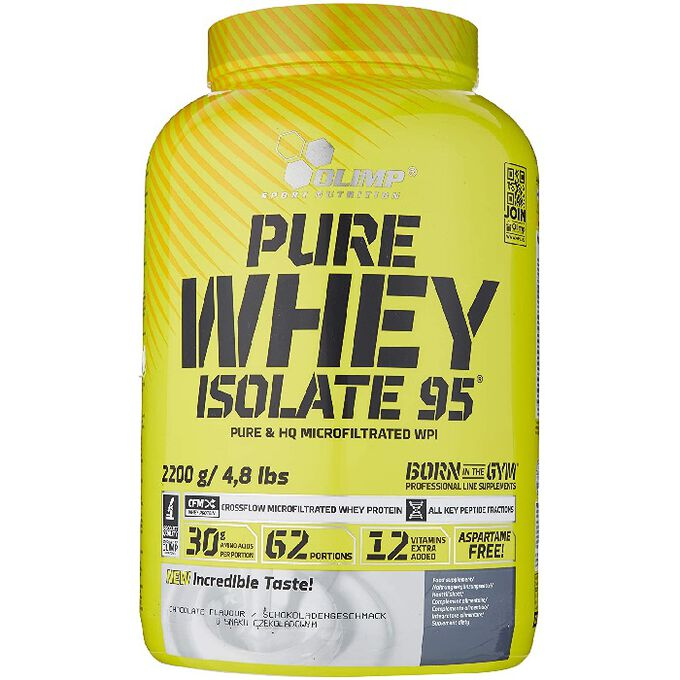 Olimp Sport Nutrition Pure Whey Isolate 95 600g Chocolate