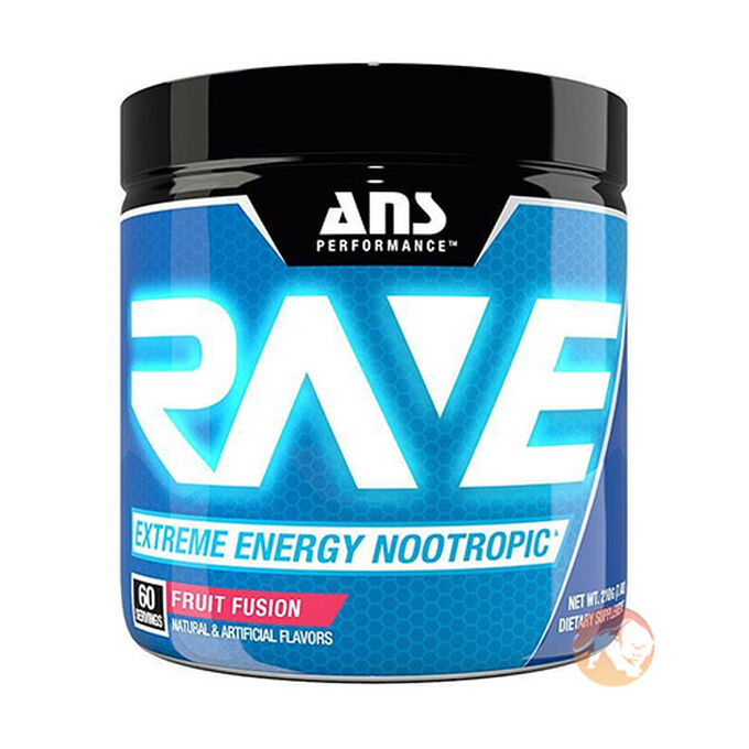 ANS Performance Rave 60 Servings Blue Raspberry