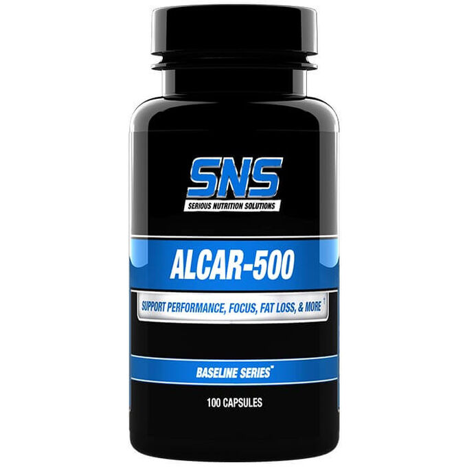 Serious Nutrition Solutions Alcar-500