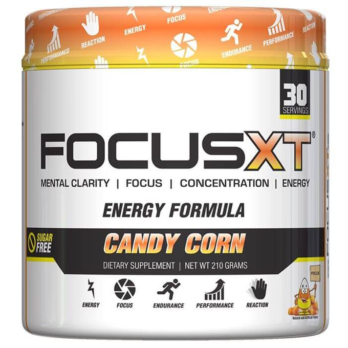 Serious Nutrition Solutions Focus XT 30 Servings Candy Corn