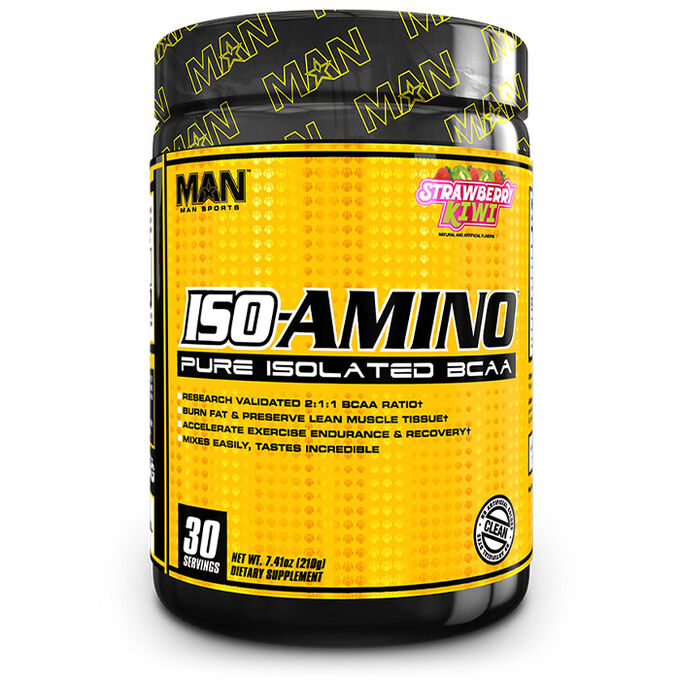 Man Sports ISO-Amino 30 Servings - Blue Bombsicle