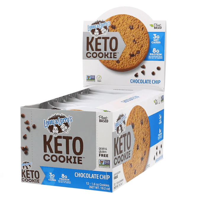 Keto Cookie 12 Pack Chocolate Chip