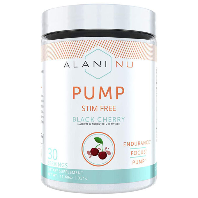 Alani Nu Pump Stim Free 30 Servings Arctic White