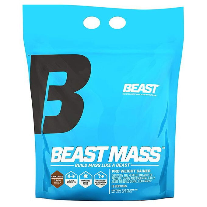 Beast Sports Nutrition Beast Mass 5.4kg Vanilla