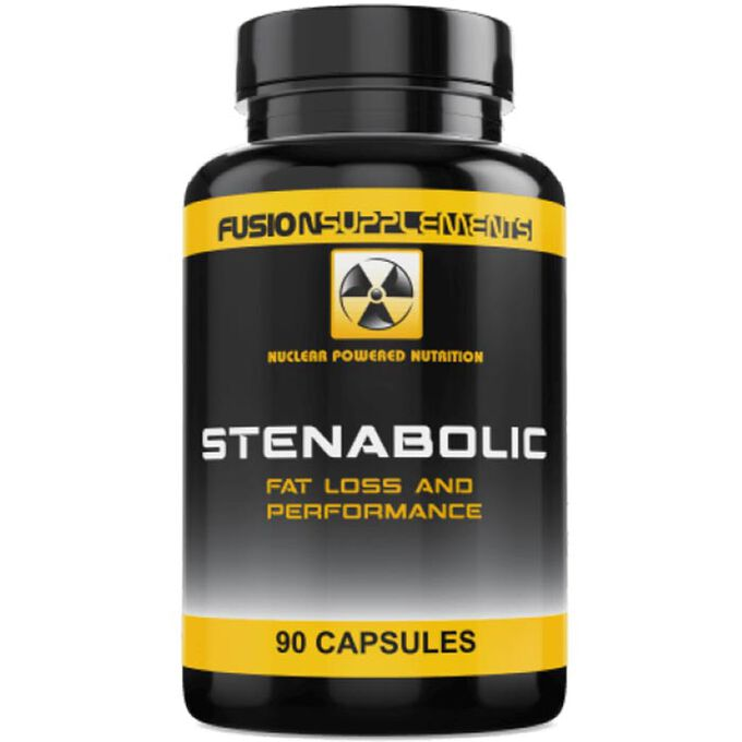 Fusion supplements Stenabolic 90 Capsules