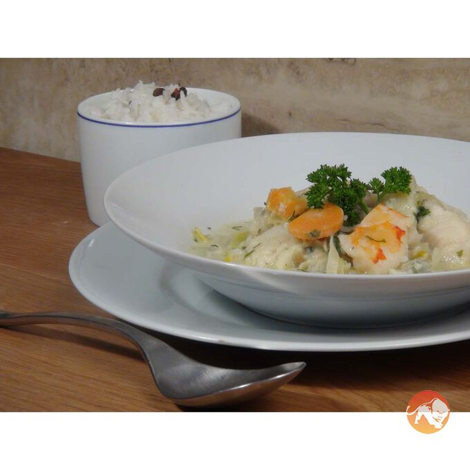 Gourmet Meal/ South African Seafood Chowder/ 1 Serving