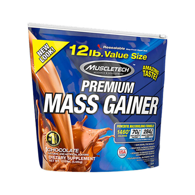 Muscletech 100% Mass Gainer 5.4kg - Good quality weight for hardgainers