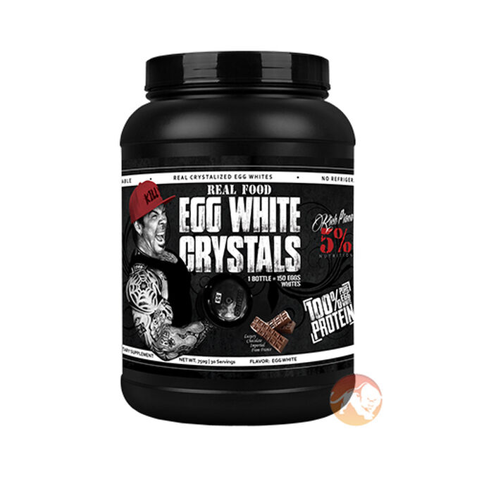 Real Food Egg White Crystals 30 Servings Chocolate