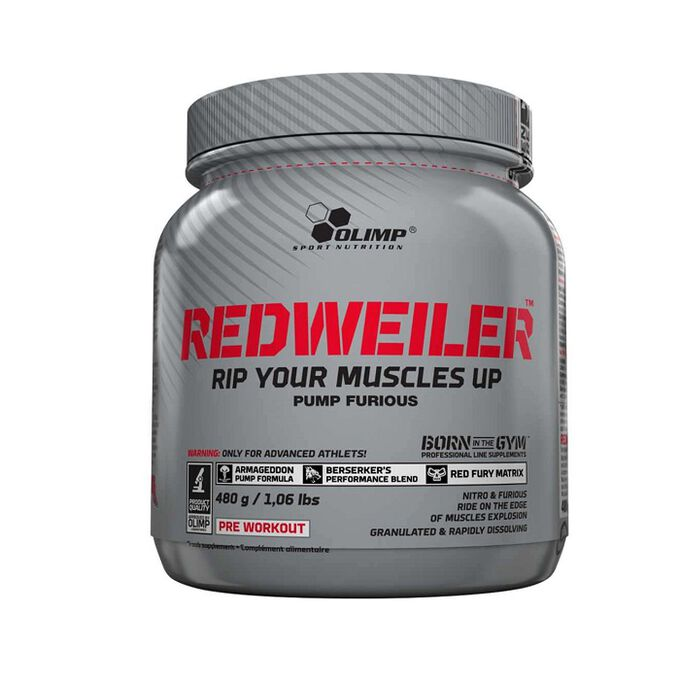 Olimp Sport Nutrition Redweiler 80 Servings Blueberry