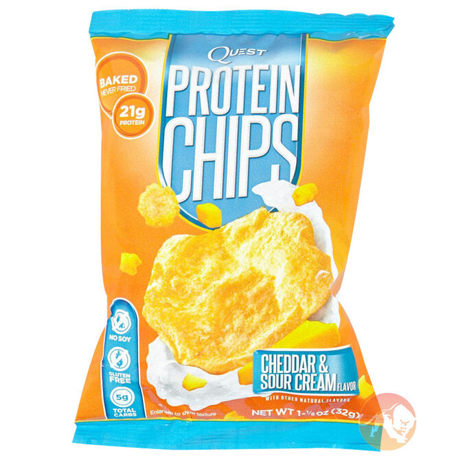 Quest Protein Chips 1 Pack-Cheddar and Sour Cream