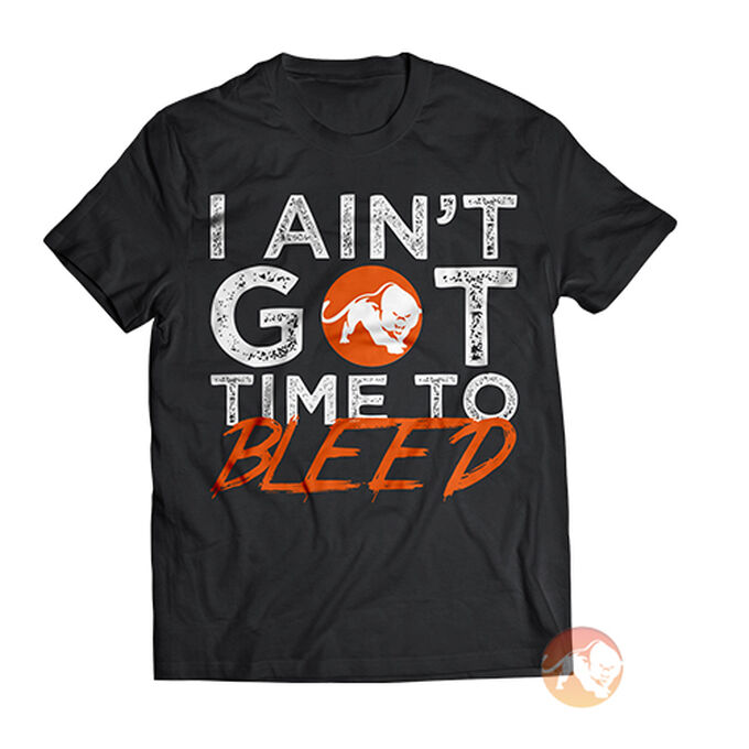 Predator Nutrition I Ain't Got Time To Bleed T-Shirt Large