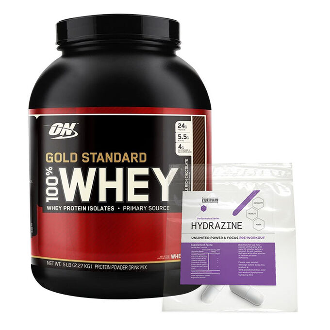 Gold Standard 100% Whey 2.27kg Delicious Strawberry