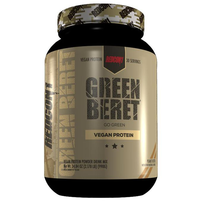Green Beret 30 Servings Peanut Butter