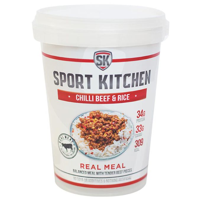 Sports Kitchen Sport Kitchen Chilli Beef Rice Protein Meal